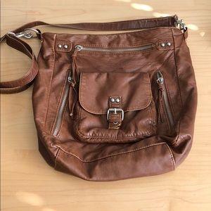 Charming Charlie Leather Crossbody Bag